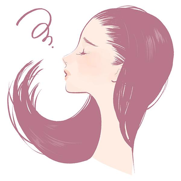 女性も薄毛、抜け毛で悩んでいます。